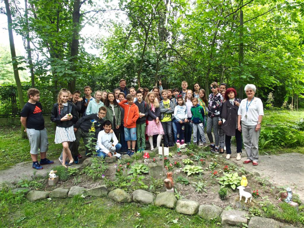 Festiwal ogrodów 2017 w  ogrodzie Domu Zasłużonego Kombatanta