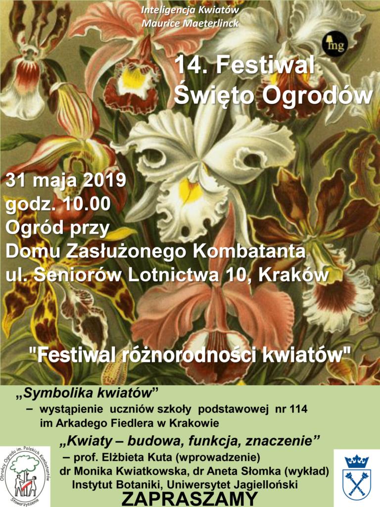 Festiwal różnorodności kwiatów